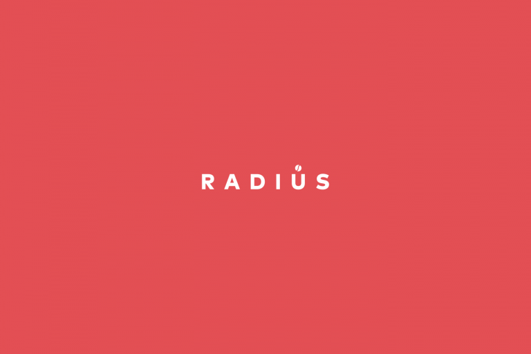 Radius service icon